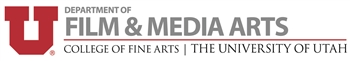 University of Utah Department of Film & Media Arts Company Logo
